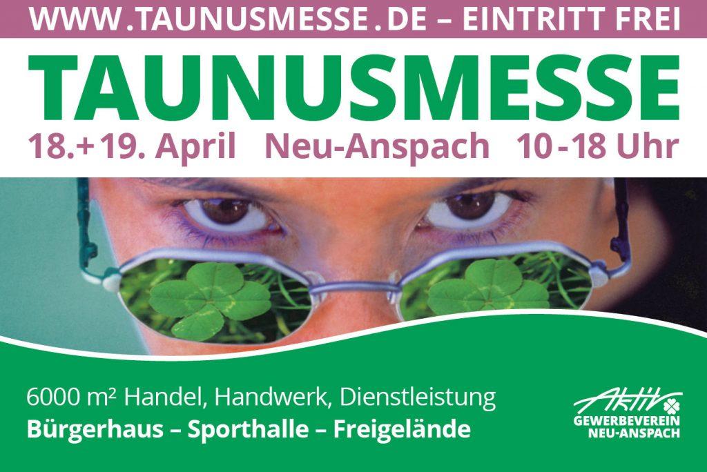 Taunusmesse in Neu-Anspach am 18. + 19. April 2020